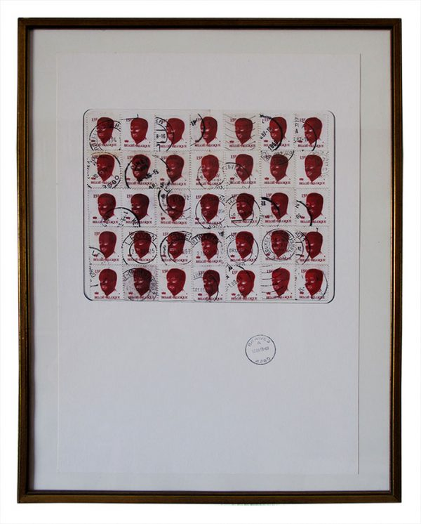 Belgium stamped