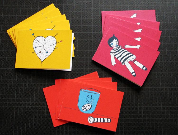 ZouiZoui cartes postales (2012)