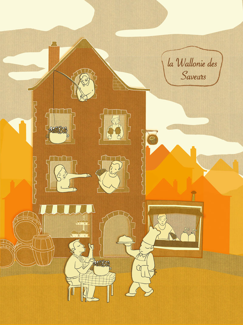La Wallonie des saveurs / Wallonia of flavors
