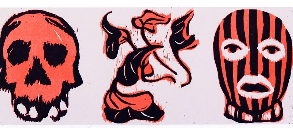 Vanité à la cagoule (gravure)