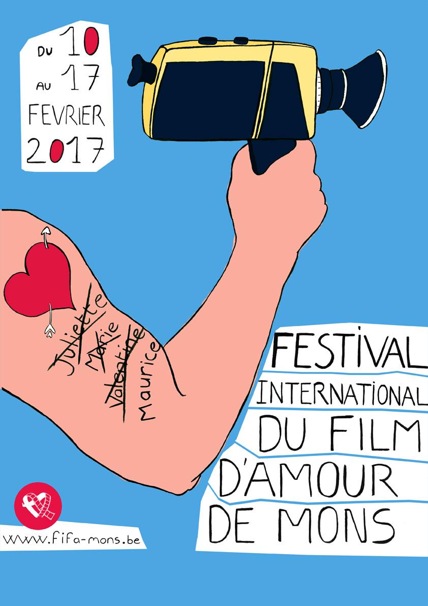 Concours : festival international du film d'amour de Mons 2017