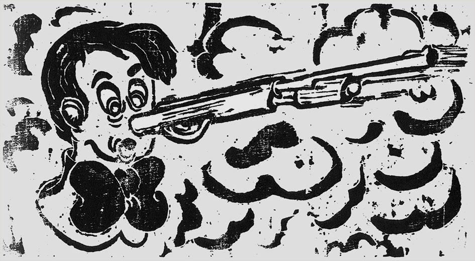 Pinocchio Pistol 01