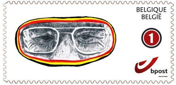 La Belgique unie (timbre)