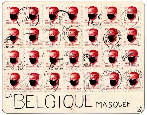 Belgium masked