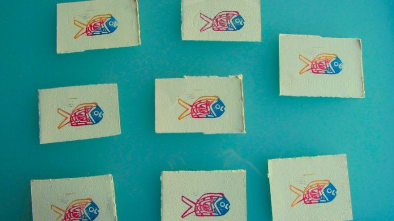 Bande de poissons 01