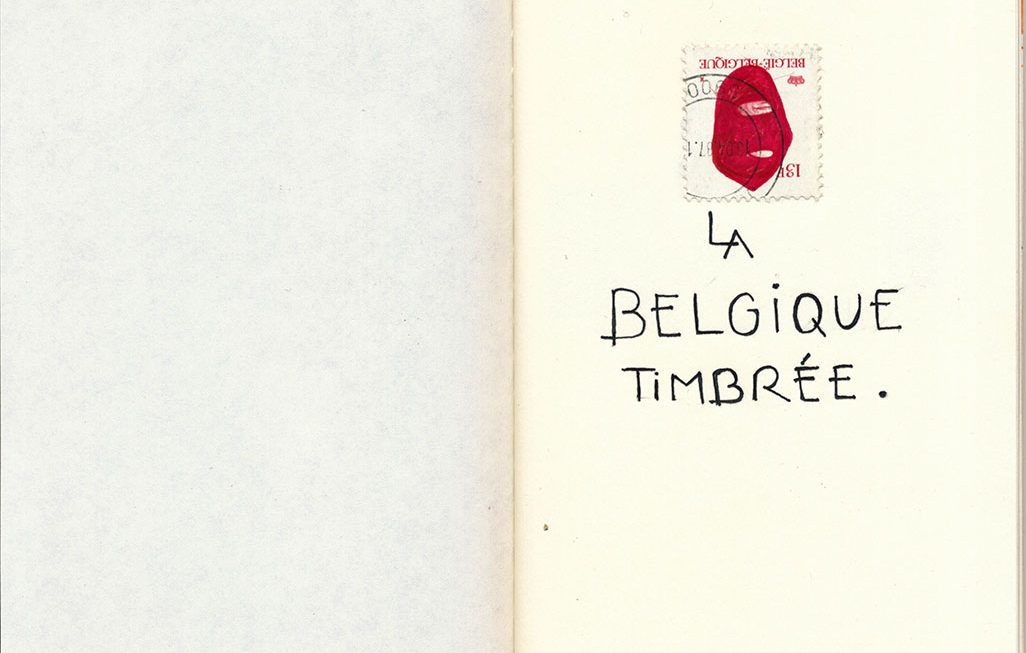Belgique stamped (notebook v01)