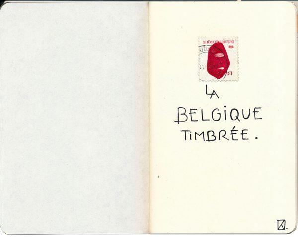 La Belgique timbrée